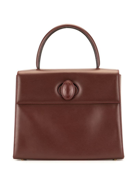 pre-owned Must de Cartier tote bag in red