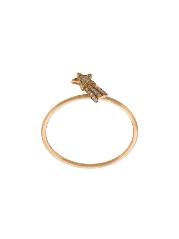 Loquet Shooting Star ring in yellow