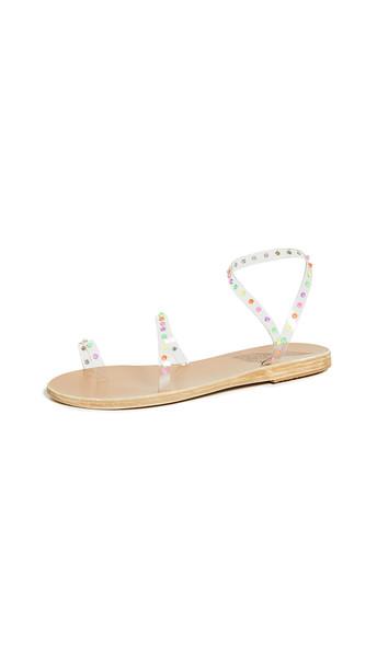 Ancient Greek Sandals Apli Eleftheria Crystal Sandals in multi