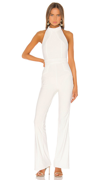 Zhivago Helical Jumpsuit in White