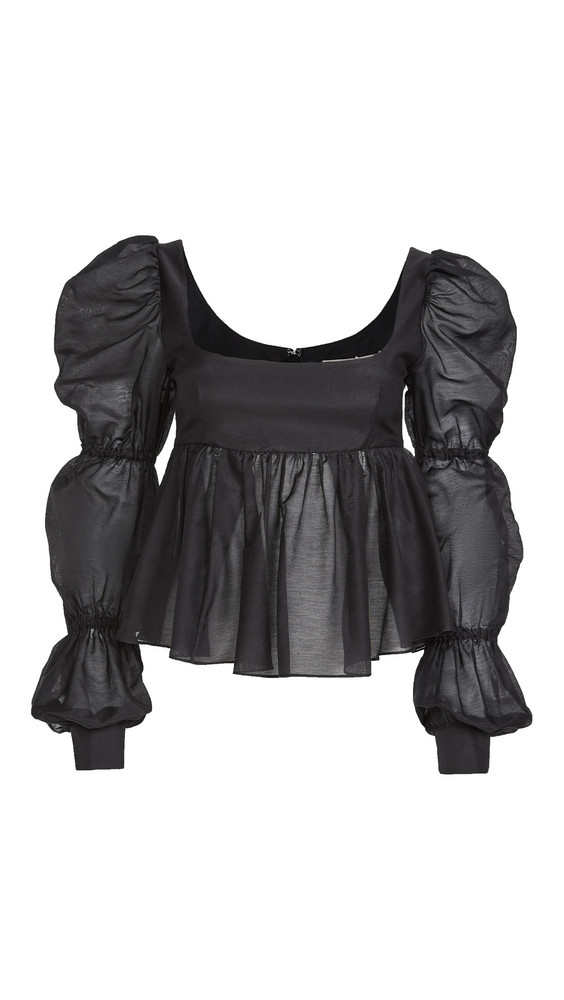 Brock Collection Roero Shirt in black
