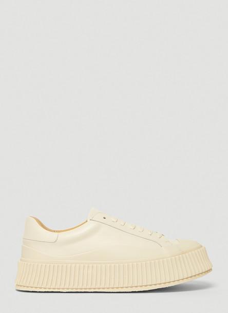 Jil Sander Vulcanised Sneakers in White size EU - 37