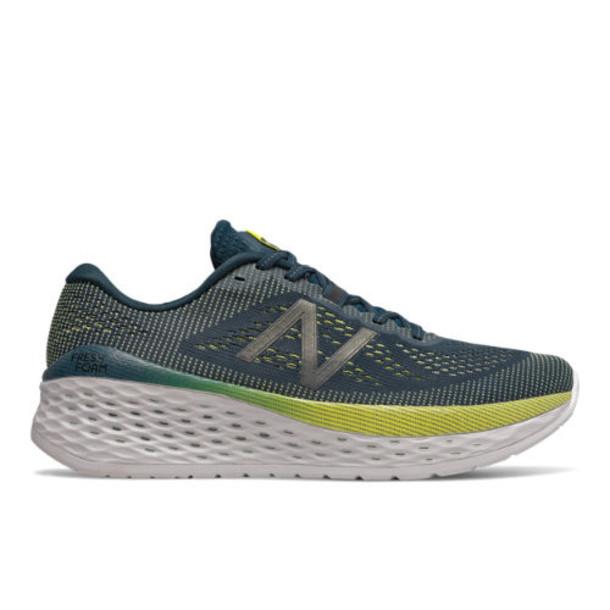 New Balance Fresh Foam More Men's Neutral Cushioned Shoes - Green/Blue (MMORCB)
