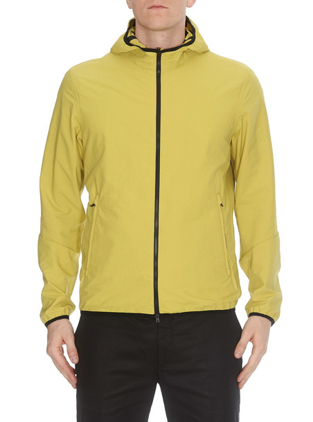 Herno Zipped Jacket in yellow