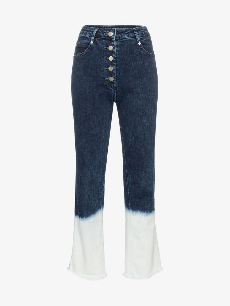 Miaou Junior dip-dye jeans in denim / denim