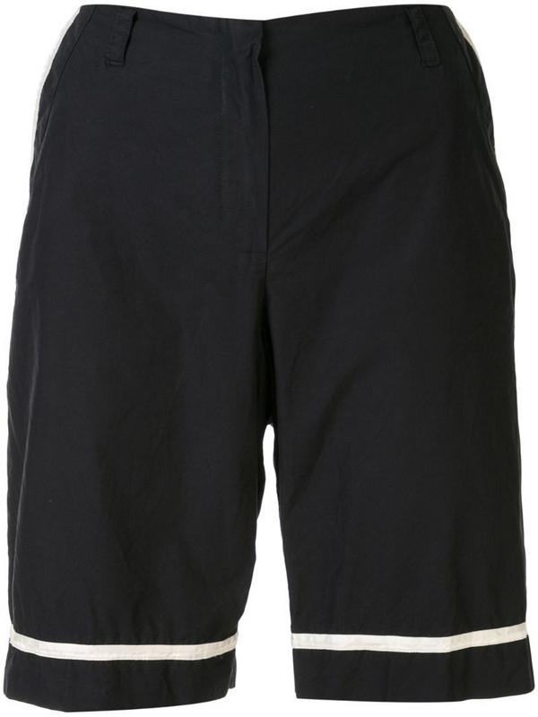 Chanel Pre-Owned sport line half pants in black