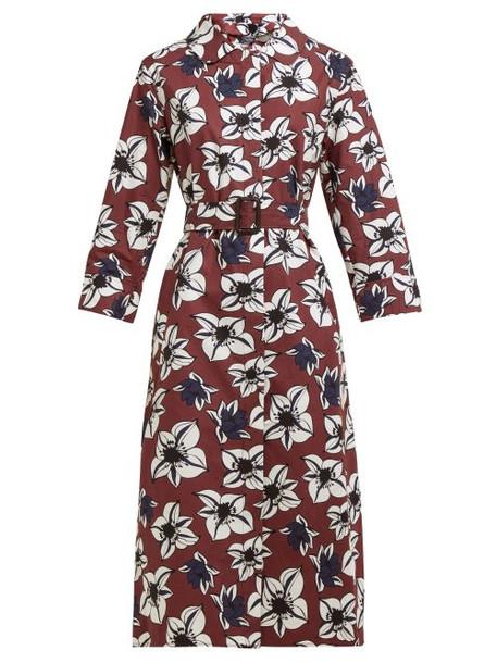 S Max Mara - Agi Dress - Womens - Brown Multi