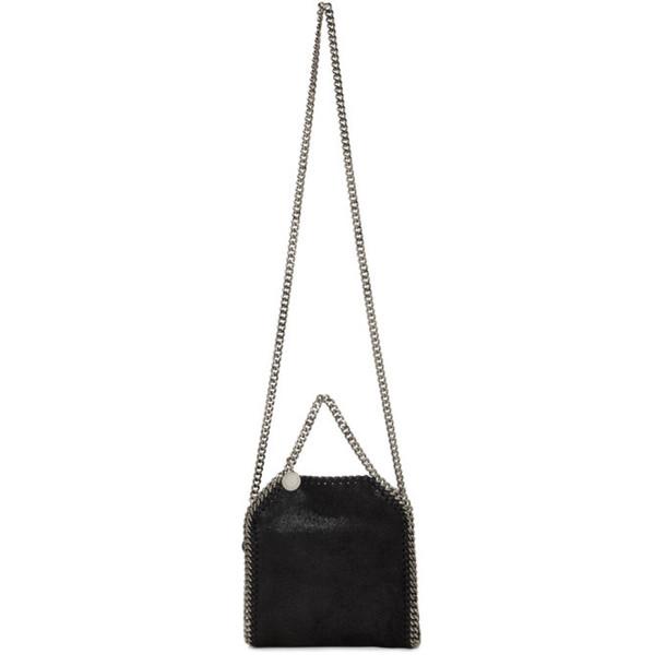 Stella McCartney Black Tiny Falabella Bag
