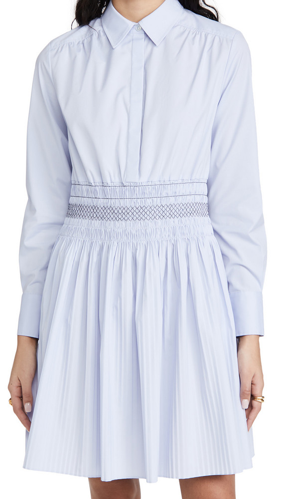 Jason Wu Shirt Dress in blue