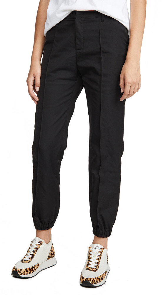Opening Ceremony Cinched Trousers in black
