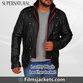 coat,rick springfield,tv series,supernatural,leather jacket,fashion,style,outfit,menswear,lifestyle,men's outfit,mens  fashion