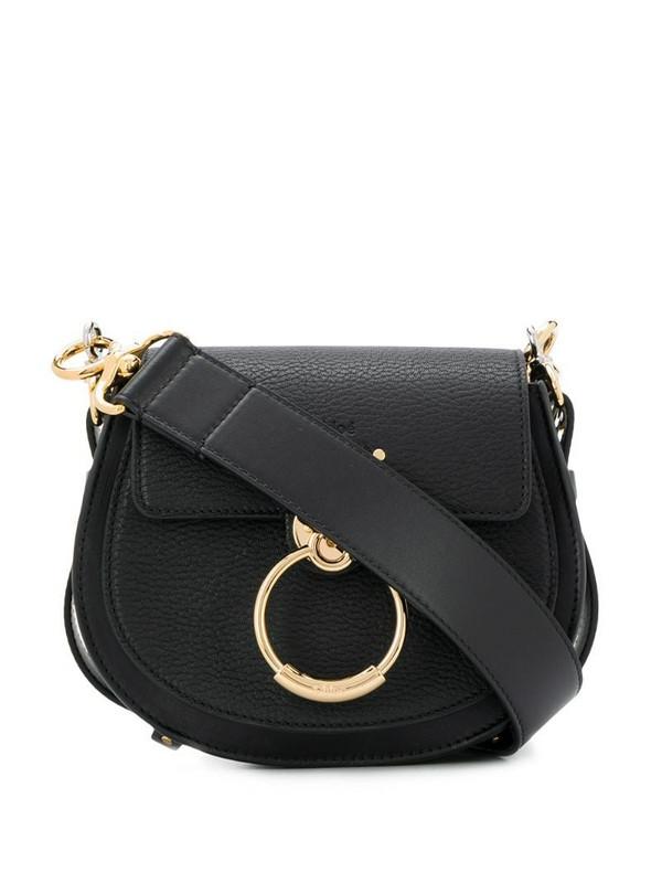 Chloé small Tess shoulder bag in black