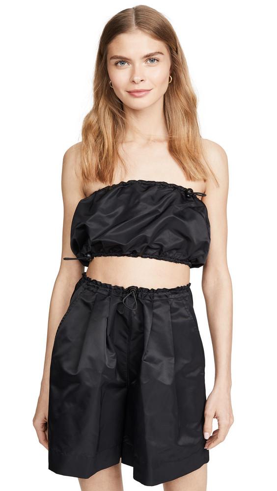 STAUD Gigi Top in black