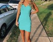 dress,macy's,teal