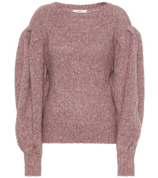 Isabel Marant, Étoile Shaelyn alpaca-blend sweater in purple