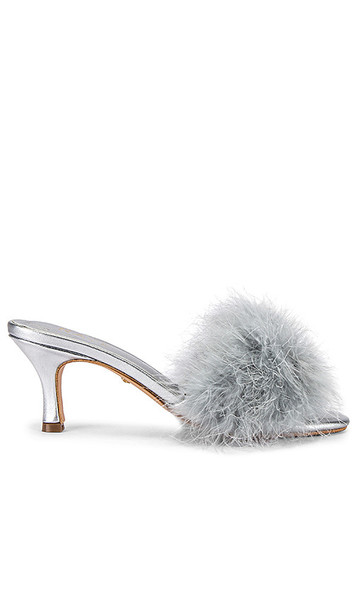 RAYE Crawford Heel in Metallic Silver