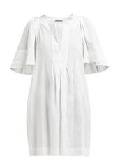dress,white,cotton