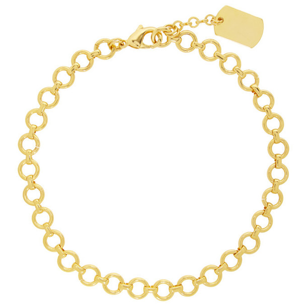 Mounser Gold Wisteria Collar Necklace