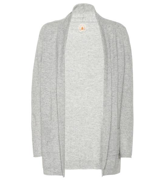 Jardin des Orangers Wool and cashmere cardigan in grey