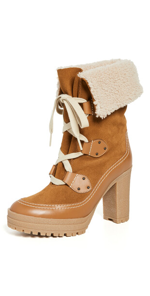 See by Chloe Verena Boots in tan
