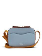 shell,bag,shoulder bag,leather,blue