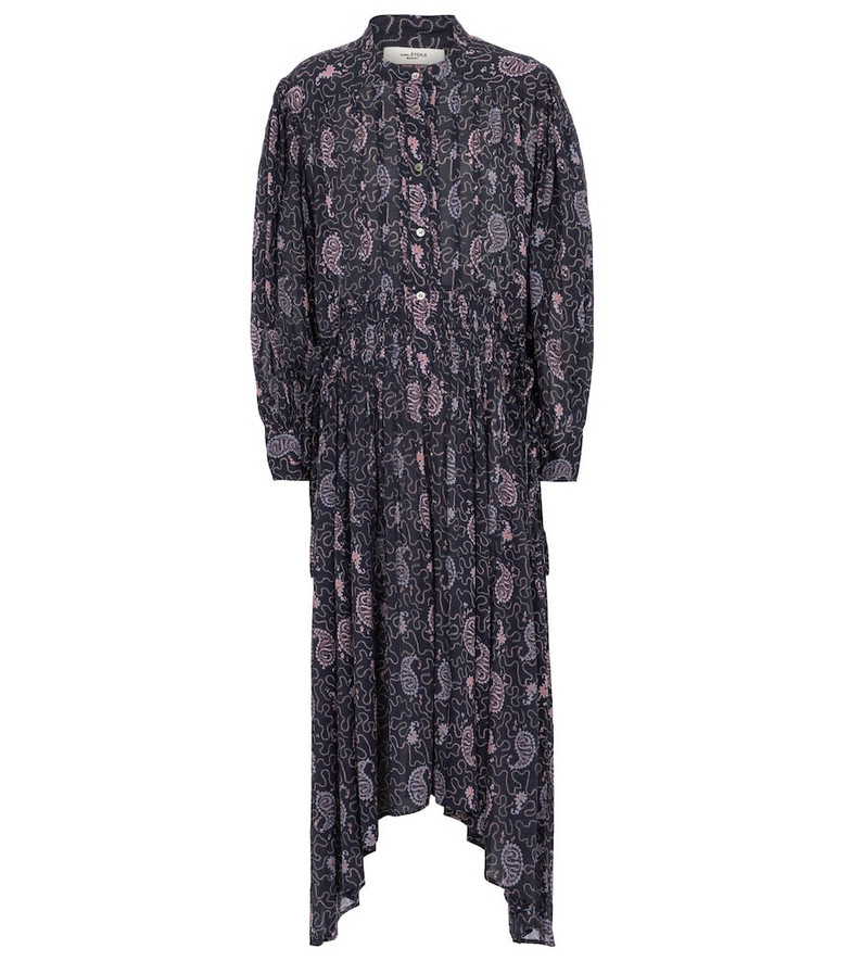 Isabel Marant, Étoile Ariana paisley cotton midi dress in purple