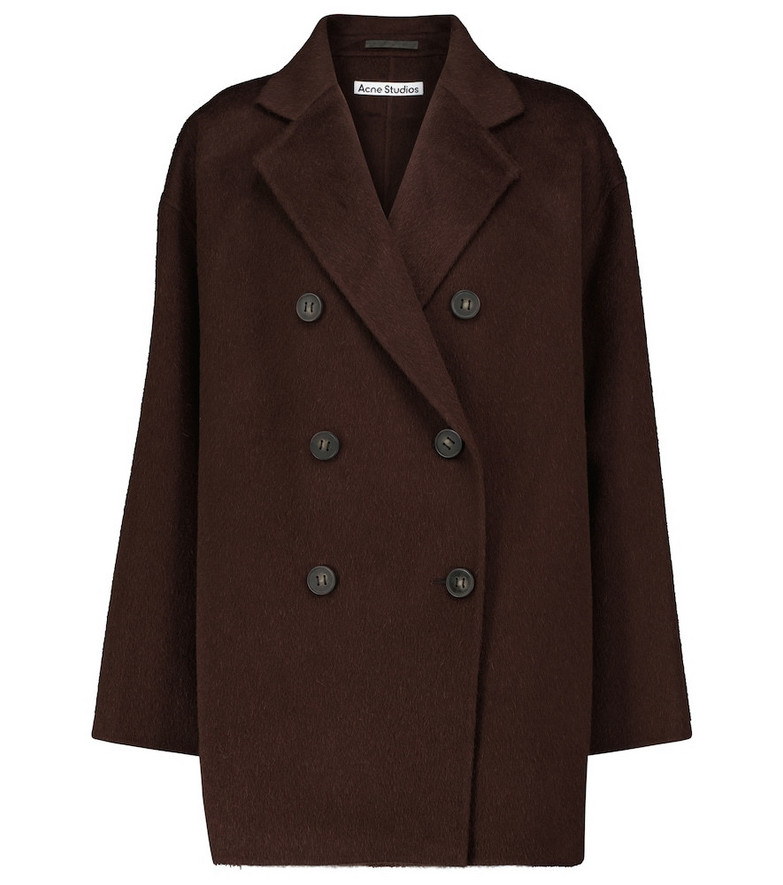 Acne Studios Double-breasted jacket in brown