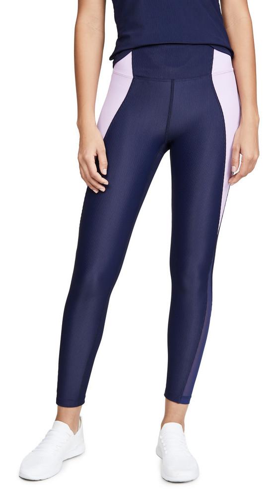 Heroine Sport Gym Leggings in navy / lilac