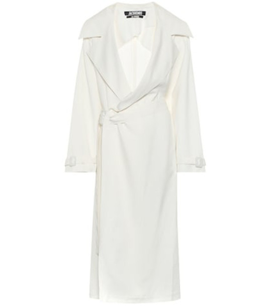 Jacquemus Le Manteau Stefano trench coat in white