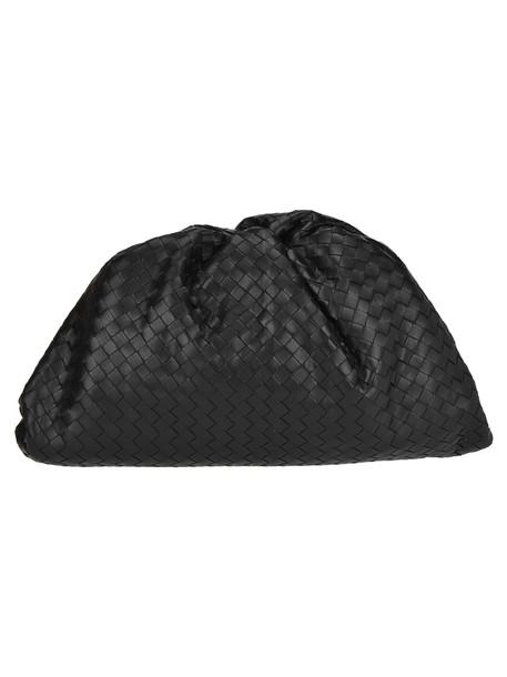 Bottega Veneta Daniel Lee Clutch Intreccio in black