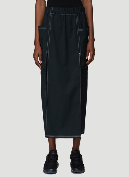 Laerke Andersen Multiple Split Skirt in Black size JPN - 1