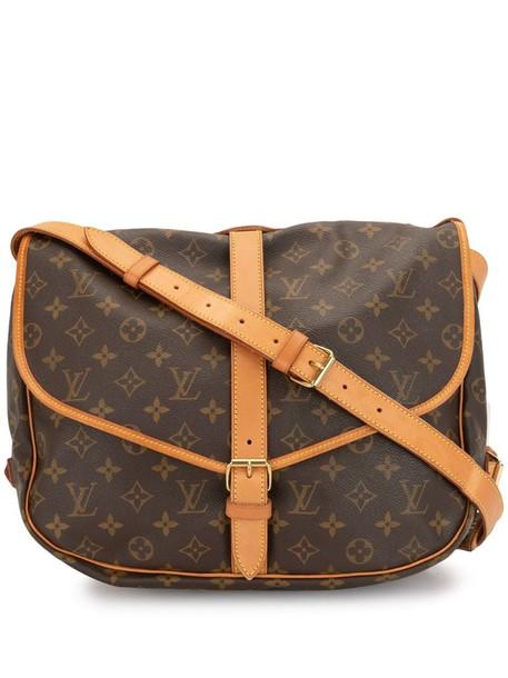 Louis Vuitton 1997 pre-owned Saumur 35 crossbody bag in brown