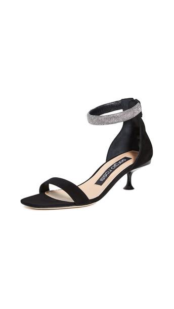 Sergio Rossi Milano Sandals in nero
