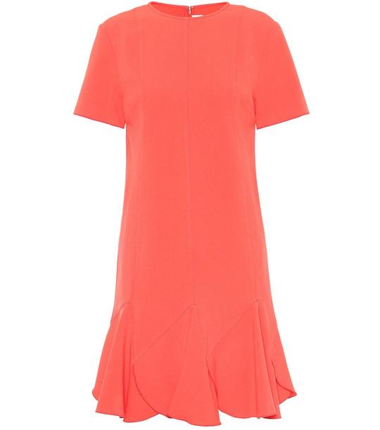 Victoria Victoria Beckham Stretch minidress in orange