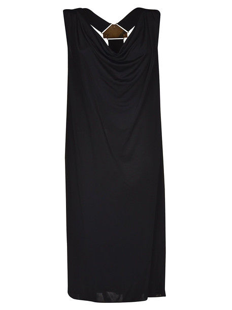 Versus Versace Sleeveless Long Dress in black
