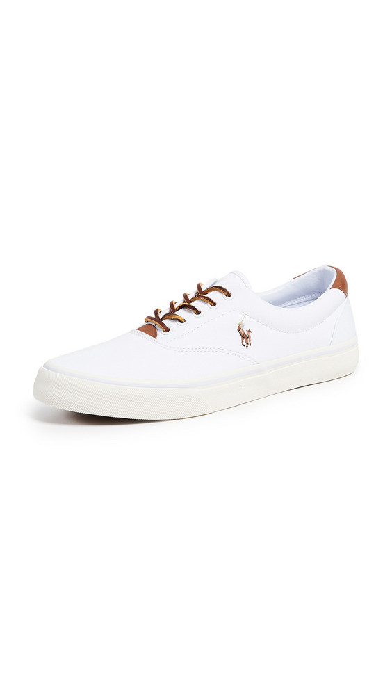 Polo Ralph Lauren Thorton Low Top Sneakers in white