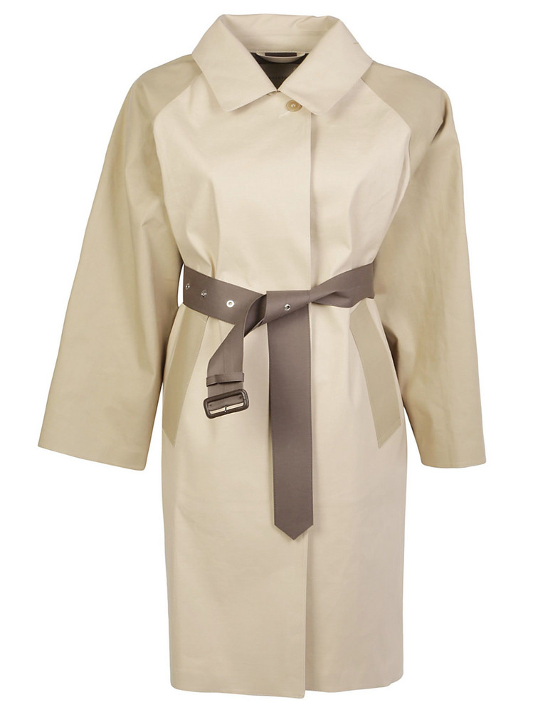 Mackintosh Trench Coat in taupe