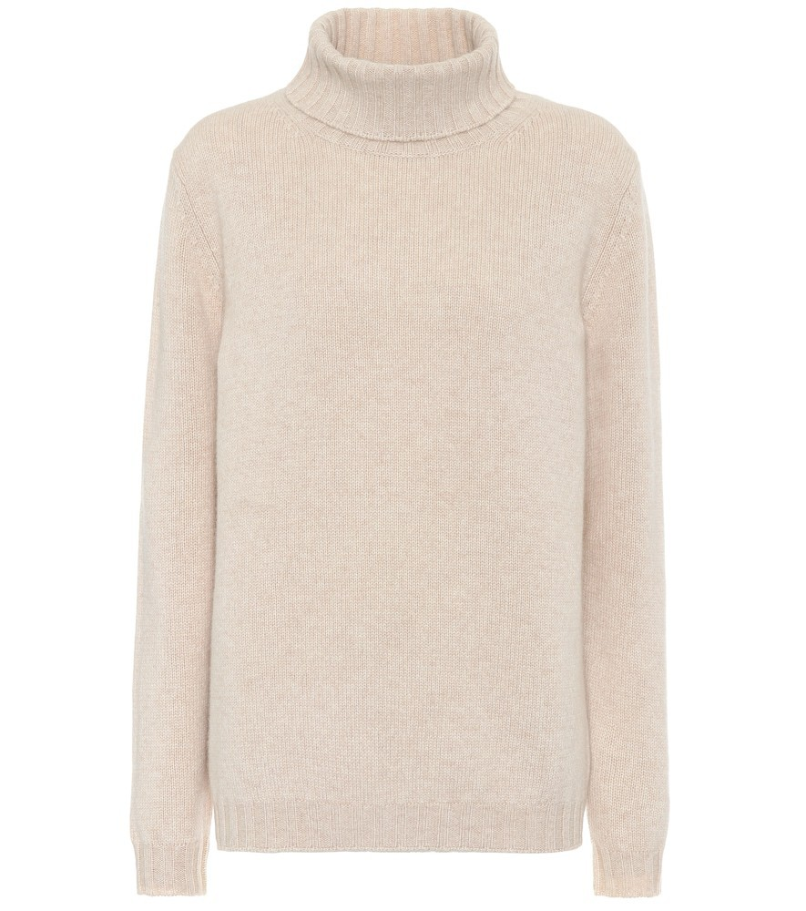 Jardin des Orangers Exclusive to Mytheresa – Cashmere turtleneck sweater in beige