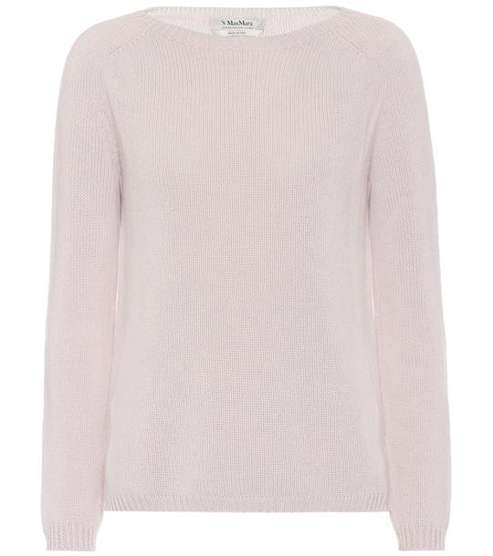 S Max Mara Giorgio cashmere sweater in white