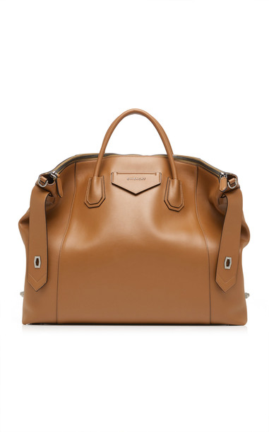 Givenchy Antigona Large Soft Leather Tote in green