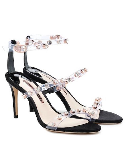 Sophia Webster Rosalind crystal-embellished sandals in black
