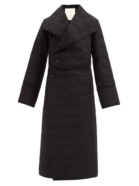 Toogood - The Tinsmith Quilted Cotton Coat - Womens - Black