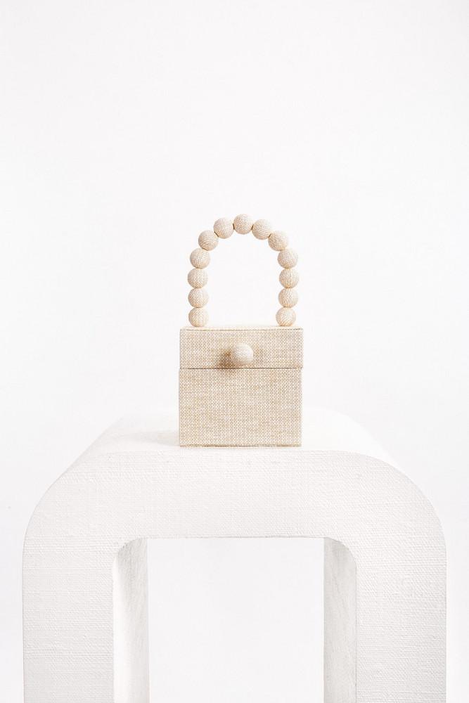 Cult Gaia Eos Box Bag - Sand (PREORDER)                                                                                               $388.00