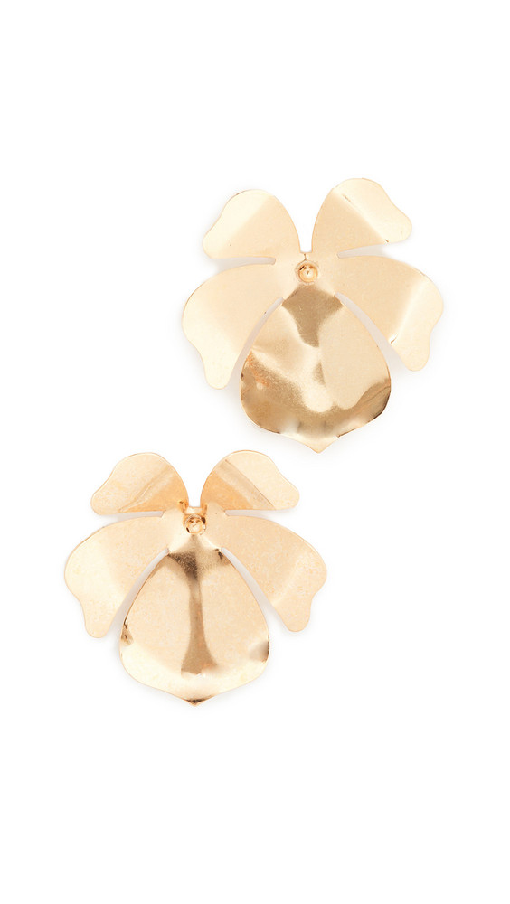 Jennifer Behr Mykah Earrings in gold