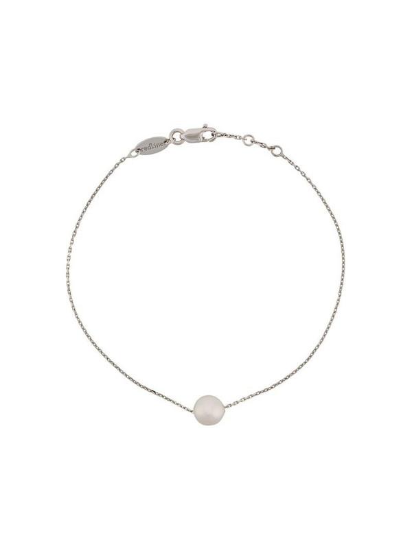Redline 18kt white gold and akoya pearl bracelet