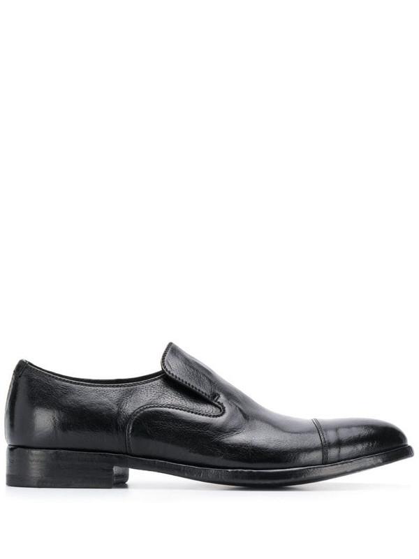 Alberto Fasciani Queen slip-on derby shoes in black