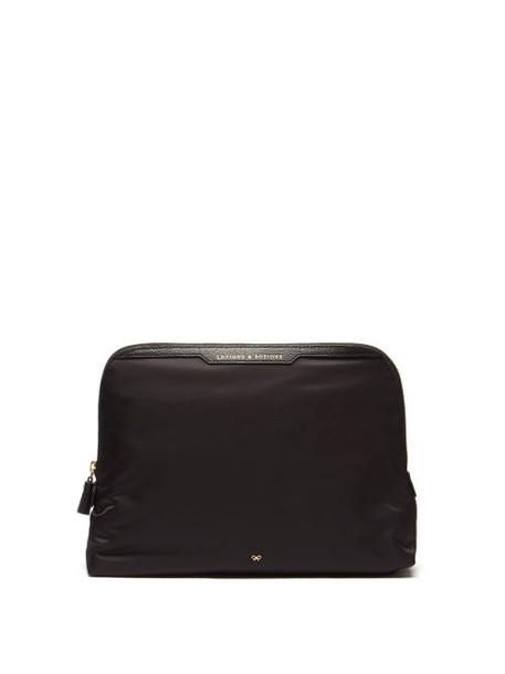 Anya Hindmarch - Lotions & Potions Recycled-fibre Wash Bag - Womens - Black