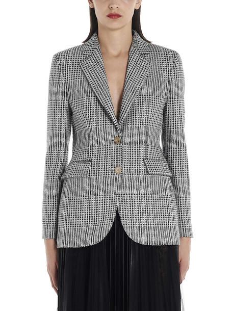 Ermanno Scervino Jacket in black / white