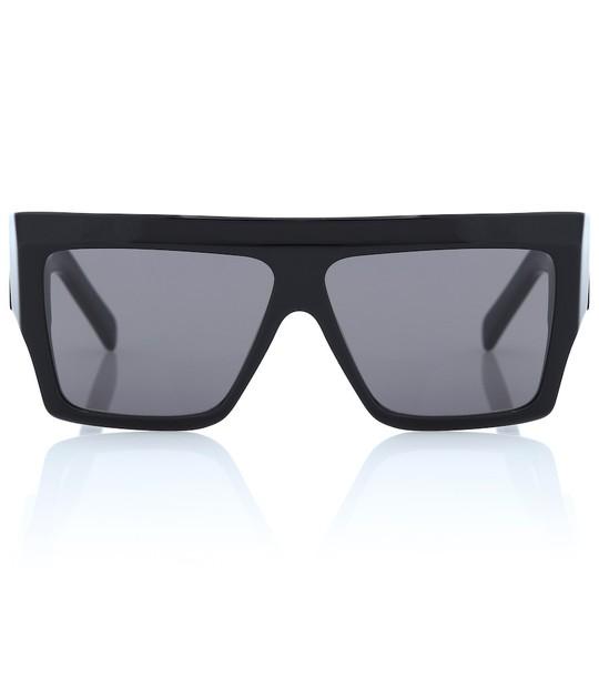 Celine Eyewear Flat-top sunglasses in black