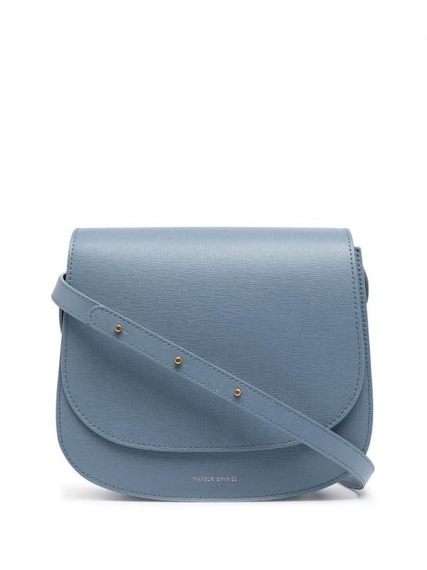 Mansur Gavriel Classic shoulder bag in blue